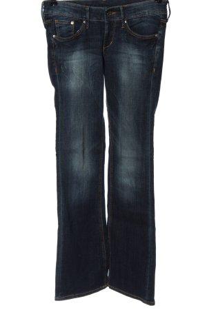 & DENIM Jeans a gamba dritta blu stile casual