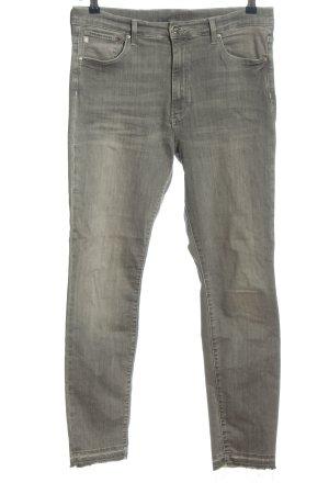 & DENIM Jeans elasticizzati grigio chiaro stile casual