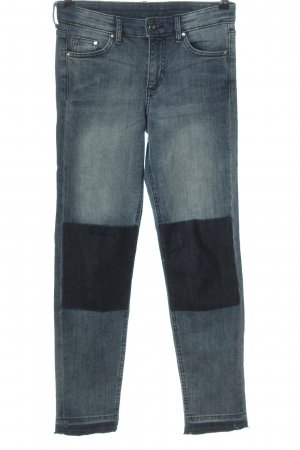 & DENIM Stretch jeans blauw-zwart casual uitstraling