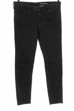 & DENIM Stretch jeans zwart casual uitstraling