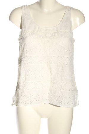 Denim & Supply Ralph Lauren Sleeveless Blouse natural white casual look