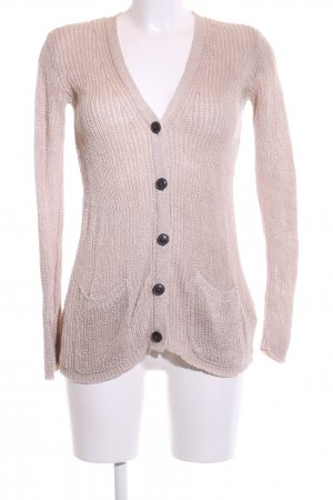Denim & Supply Ralph Lauren Cardigan all'uncinetto rosa punto treccia