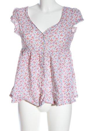 Denim & Supply Ralph Lauren Shirt Blouse flower pattern casual look