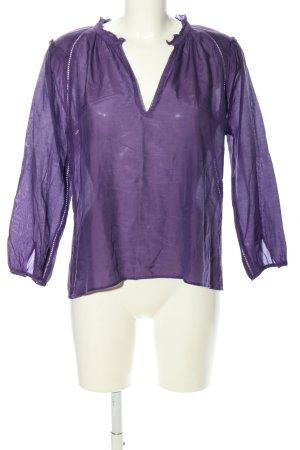 Denim & Supply Ralph Lauren Hemd-Bluse lila Casual-Look