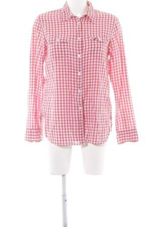 Denim & Supply Ralph Lauren Holzfällerhemd rot-weiß Karomuster