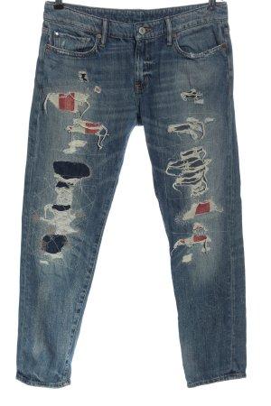 Denim & Supply Ralph Lauren Low Rise Jeans blue casual look