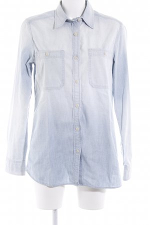 Denim & Supply Ralph Lauren Jeansbluse himmelblau Jeans-Optik