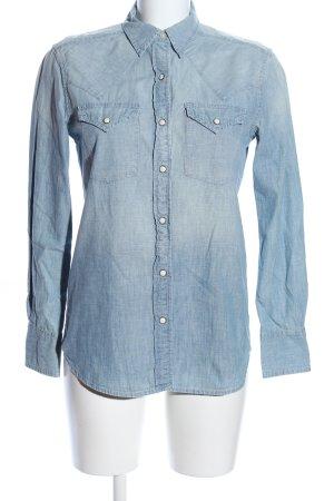 Denim & Supply Ralph Lauren Jeanshemd blau Casual-Look