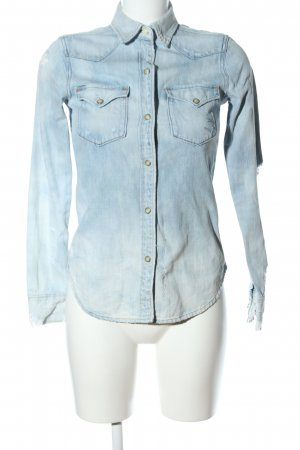 Denim & Supply Ralph Lauren Jeansjacke blau Farbverlauf Casual-Look