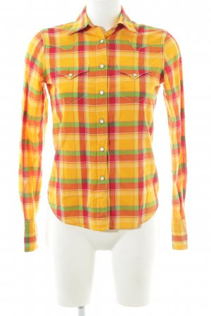 Denim & Supply Ralph Lauren Checked Blouse allover print casual look