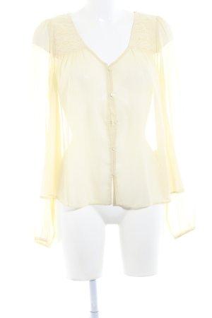 Denim & Supply Ralph Lauren Langarm-Bluse creme schlichter Stil