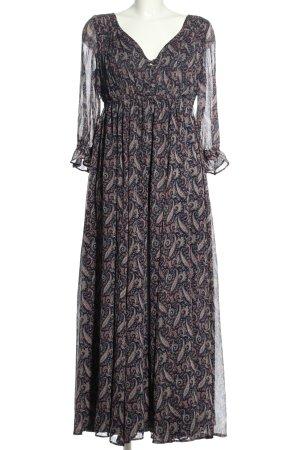 Denim & Supply Ralph Lauren Maxi Dress abstract pattern casual look