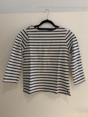 Denim & Supply Ralph Lauren Camisa de rayas azul oscuro-blanco puro Algodón