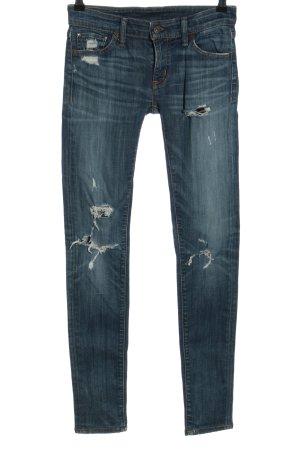 Denim & Supply Ralph Lauren Röhrenhose blau Casual-Look