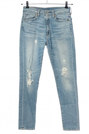 Denim & Supply Ralph Lauren Röhrenjeans blau Casual-Look
