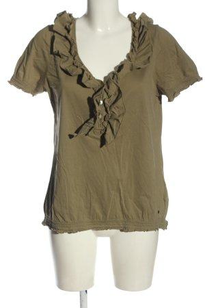 Denim & Supply Ralph Lauren Rüschen-Bluse khaki Elegant