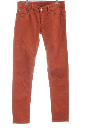 Denim & Supply Ralph Lauren Skinny Jeans hellorange Casual-Look