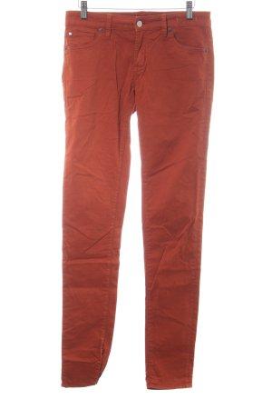 Denim & Supply Ralph Lauren Skinny Jeans hellorange Business-Look