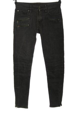 Denim & Supply Ralph Lauren Skinny Jeans schwarz Casual-Look