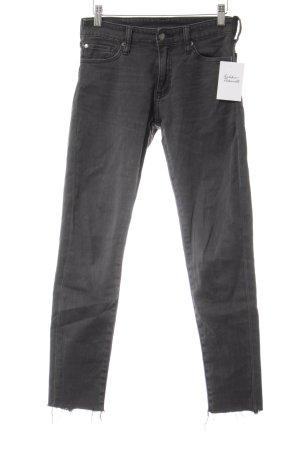 Denim & Supply Ralph Lauren Skinny Jeans dunkelgrau Casual-Look