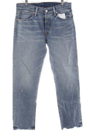 Denim & Supply Ralph Lauren Slim Jeans blau Casual-Look