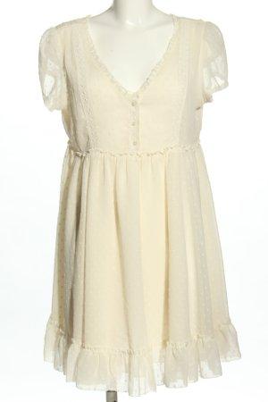 Denim & Supply Ralph Lauren Lace Dress cream casual look