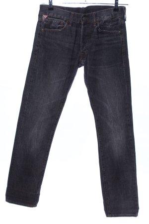 Denim & Supply Ralph Lauren Straight Leg Jeans light grey-grey cotton