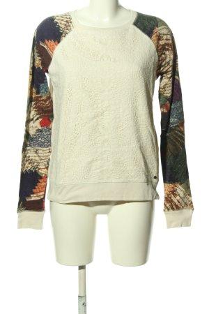 Denim & Supply Ralph Lauren Sweat Shirt abstract pattern casual look