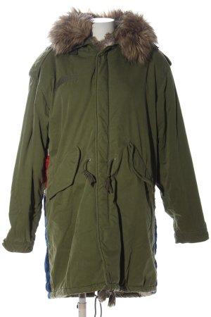 Denim & Supply Ralph Lauren Winter Jacket themed print casual look