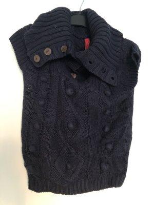 Vero Moda Fine Knitted Cardigan dark blue
