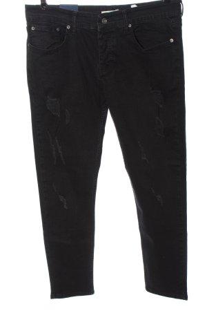 Denim Pasaport High Waist Jeans schwarz Casual-Look