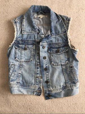Smanicato jeans blu