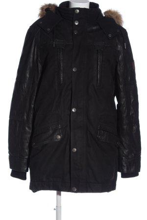& DENIM Winter Jacket black casual look