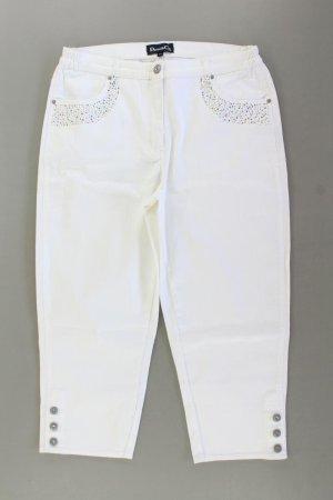 Jeansy 7/8 w kolorze białej wełny Bawełna