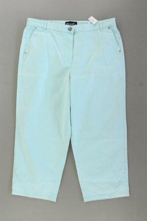7/8-jeans turkoois Katoen
