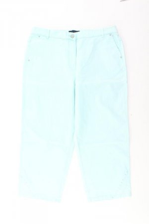 7/8 Length Jeans turquoise cotton