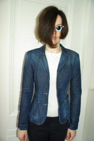 Edc Esprit Blazer en jean bleu acier