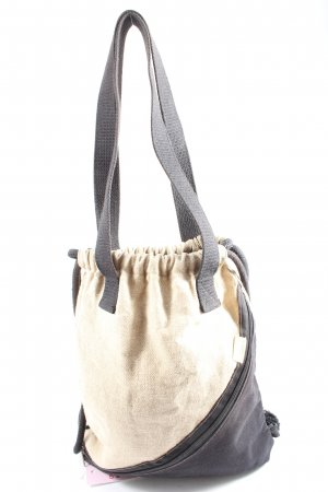 denkefair Pouch Bag natural white-black casual look