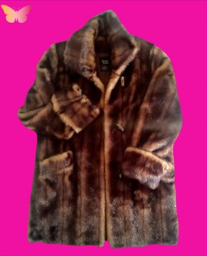 Dennis Basso Winter Coat bronze-colored-brown