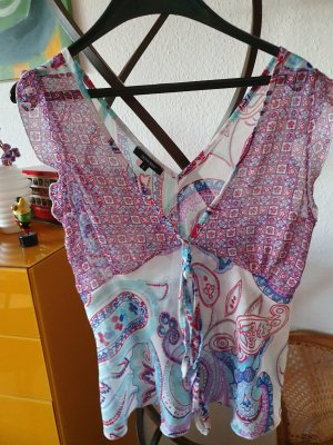 Denny Rose Sleeveless Blouse light blue-pink