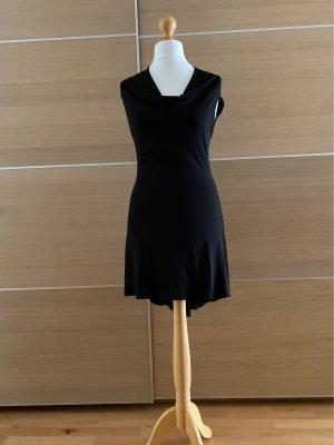 Denny Rose Mini Dress black acetate