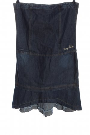 Denny Rose Denim Skirt blue casual look