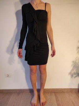 Denny Rose Mini Dress black mixture fibre