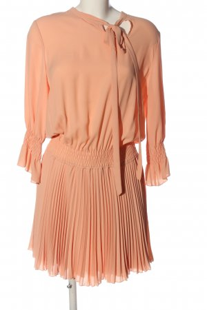 Denny Rose Longsleeve Dress light orange polyester