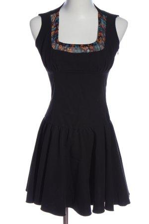 Denny Rose Mini Dress flower pattern casual look