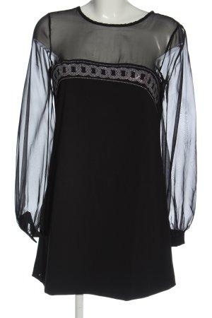Denny Rose Mini Dress black elegant