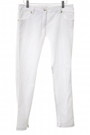Denny Rose Slim Jeans weiß Casual-Look