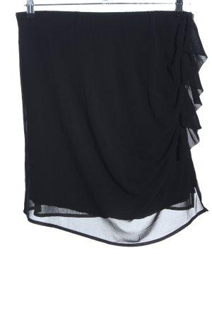 Denny Rose Volantrock schwarz Elegant