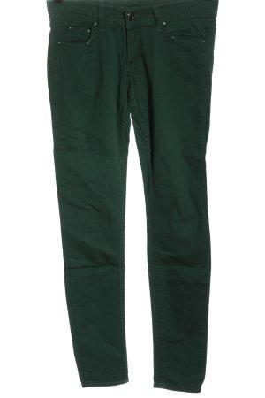 dennys Jeansy biodrówki zielony W stylu casual