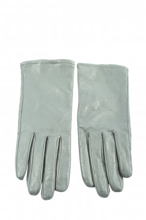 DENTS Leather Gloves light grey casual look